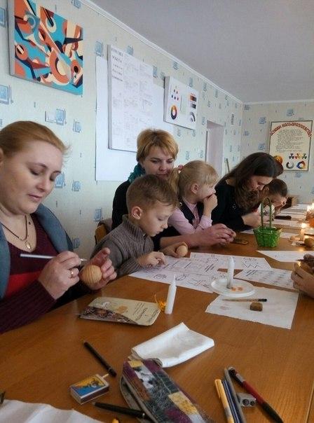 Майстер-клас з писанкарства під керівництвом Тетяни Леонідівни Довгополік